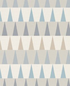 Azul Wallpaper from the Tresilio Collection by Harlequin in Nordic Blue, Sky and Smoke