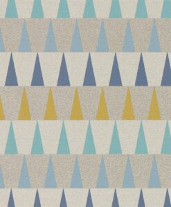 Azul Wallpaper from the Tresilio Collection by Harlequin in Ogre and Seagrass