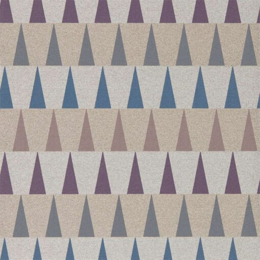 Azul Wallpaper from the Tresilio Collection by Harlequin in Damson, Slate and Viola