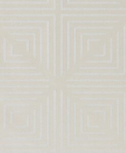 Radial Wallpaper from the Momentum 04 Collection in Oyster and Pearl