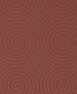 Sakura Wallpaper from the Momentum 04 Collection in Spice