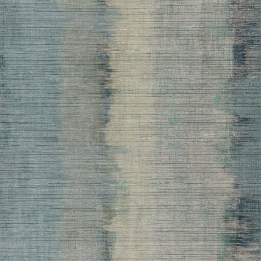 Lustre Wallpaper from the Definition Collection by Anthology in Topaz and Argent