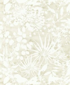 Coralline Wallpaper from the Anthozoa Collection in Pebble