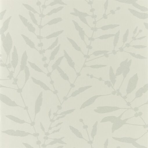 Chaconia Shimmer Wallpaper from the Anthozoa Collection in Sand