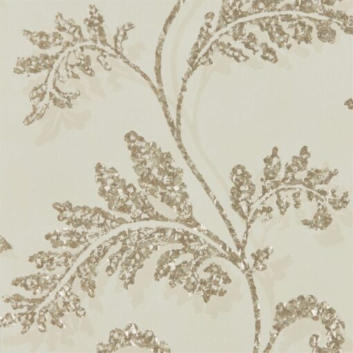 Lucero Wallpaper from the Lucero Collection by Harlequin in Nude & Champagne