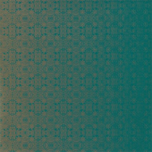 Eminence Wallpaper from the Lucero Collection by Harlequin in Emerald & Champage