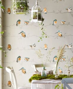 Persico Wallpaper from the Standing Ovation Collection by Harlequin