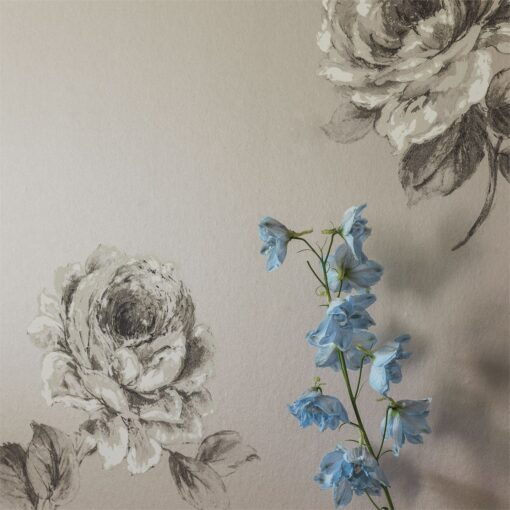 Rosa Wallpaper from Waterperry Wallpaper by Sanderson Home