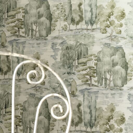 Close up of Waterperry Wallpaper from Sanderson Home