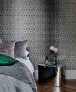 Eminence Wallpaper from the Lucero Collection by Harlequin