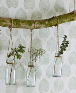 Lyme Leaf wallpaper from The Potting Room Collection by Harlequin