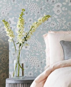 Maelee Wallpaper from The Potting Room Collection by Harlequin Wallpaper