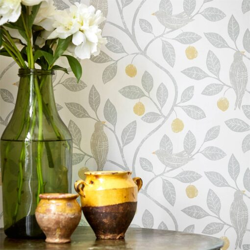 Damson Tree Wallpaper from The Potting Room Collection by Harlequin
