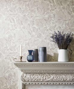 Thackeray Wallpaper from the Chiswick Grove Collection by Sanderson