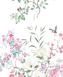 216305 Magnolia & Blossom wallpaper from Waterperry Wallpapers by Sanderson Home