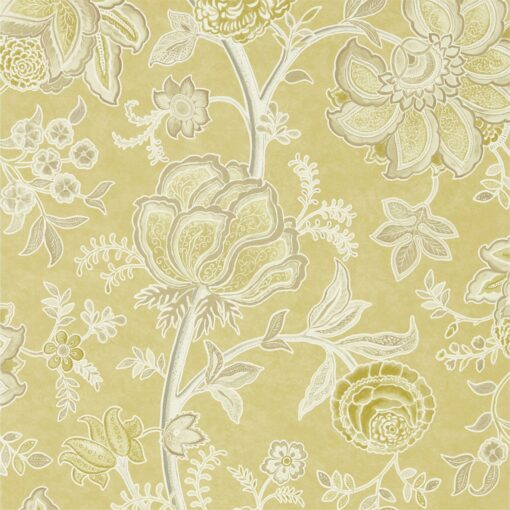 Shalimar Wallpaper from The Art of the Garden Collection by Sanderson Home in Linden & Taupe