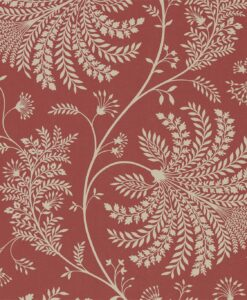 apperton Wallpaper from The Art of the Garden Collection in Russet & Cream