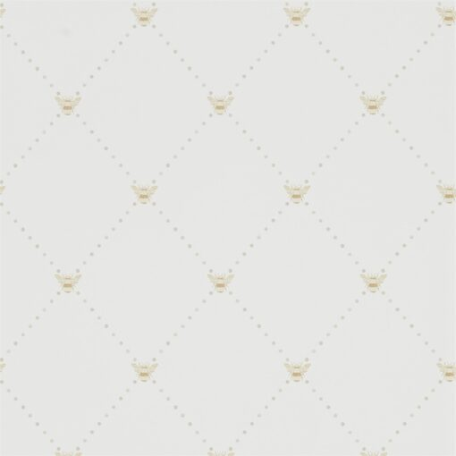 Nectar Wallpaper from The Potting Room Collection in Linen & Honey