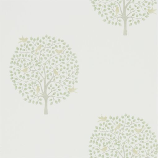 216359 Bay Tree Wallpaper from The Potting Room Collection in Celadon & Flint