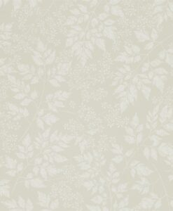 Spring Leaves Wallpaper from The Potting Room Collection in Barley