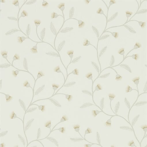 Everly Wallpaper from The Potting Room Collection in Linen