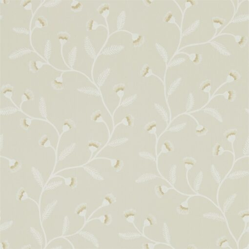 Everly Wallpaper from The Potting Room Collection in Flint