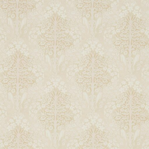 Lerena Wallpaper from the Chiswick Grove Collection by Sanderson Home in Cream