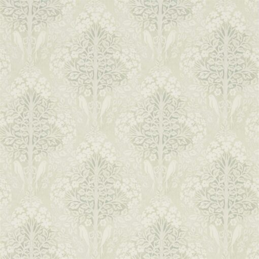 Lerena Wallpaper from the Chiswick Grove Collection by Sanderson Home in Willow