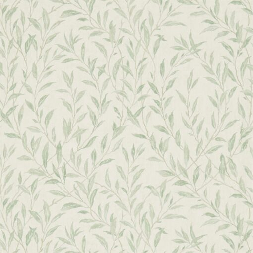 Osier Wallpaper from the Chiswick Grove collection by Sanderson Home in Willow and Cream