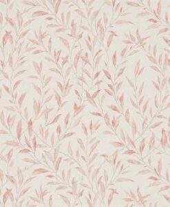 Osier Wallpaper from the Chiswick Grove collection by Sanderson Home in Rosewood and Sepia