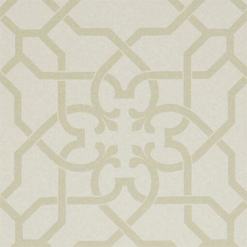Mawton Wallpaper from the Chiswick Grove Collection by Sanderson in Willow and Cream