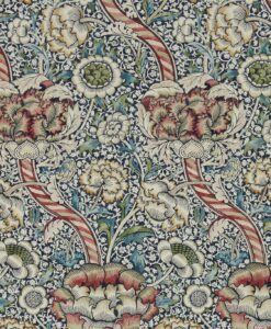 Wandle Wallpaper from Morris & Co in Indigo & Madder