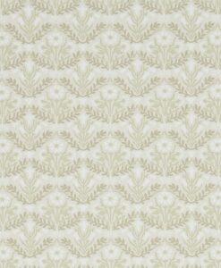 Morris Bellflowers Wallpaper from the Archives IV collection by Morris & Co. in Manilla & Olive