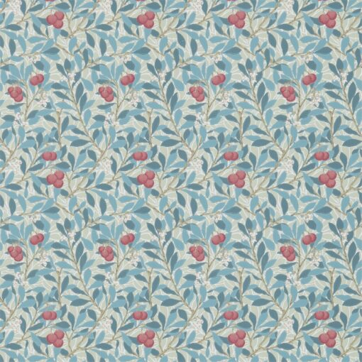 Arbutus Wallpaper by Morris & Co in Woad & Russett