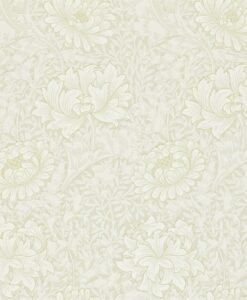 Chrysanthemum Toile Wallpaper
