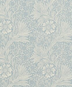 Marigold Wallpaper from The Craftsman Wallpapers by Morris & Co. in Wedgwood