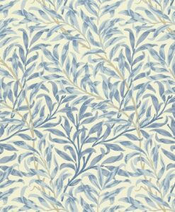 Willow Boughs wallpaper from the Craftsman Wallpapers by Morris & Co. in blue