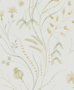 Summer Harvest by Sanderson in Silver and Corn