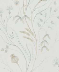 Summer Harvest by Sanderson in Silver and Chalk