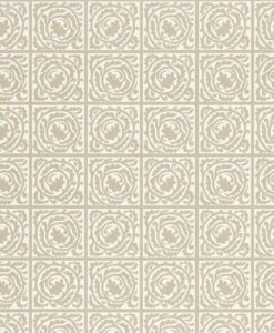 Pure Scroll wallpaper by Morris & Co. in Gilver