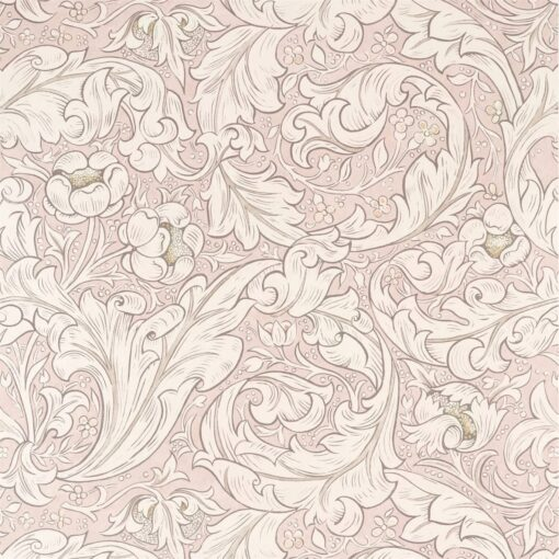 Pure Bachelors Button from the Pure North Collection by Morris & Co in Faded Sea Pink