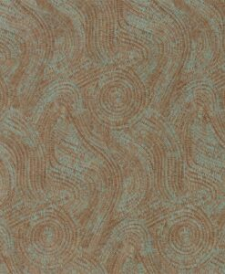 Hawksmoor Wallpaper by Zophany in Oxidised Copper