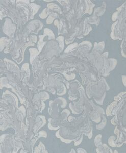 Acantha Wallpaper from Phaedra Wallpapers by Zophany in Bluestone