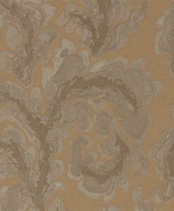 Acantha Wallpaper from Phaedra Wallpapers by Zophany in Amber