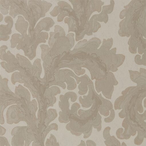 Acantha Wallpaper from Phaedra Wallpapers by Zophany in Linen