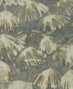 Iliad Wallpaper from the Kempshott Collection by Zophany in Blue Stone