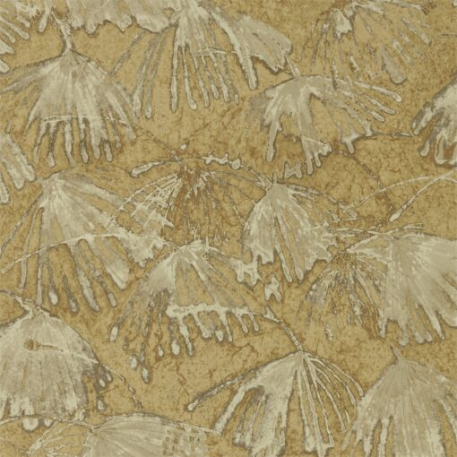 Iliad Wallpaper from the Kempshott Collection by Zophany in Gold