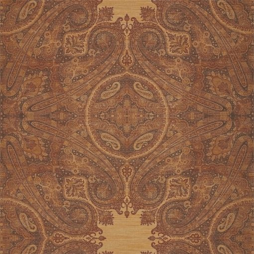 Elswick Paisley Wallpaper from the Kempshott Collection in Sunstone