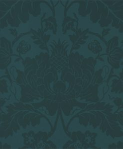 Villandry Wallpaper from the Damask Wallpaper Collection by Zophany in Serpentine