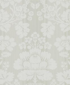 Beauvais wallpaper from Damask Wallpapers by Zophany in Platinum Gray